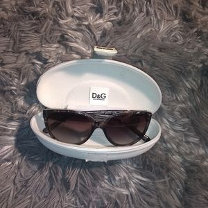 Dolce & Gabbana sunglasses with case